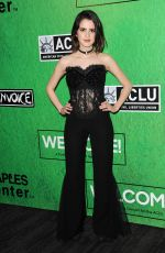 LAURA MARANO at Zedd's Welcome! ACLU Benefit Concert in Los Angeles 04/03/2017