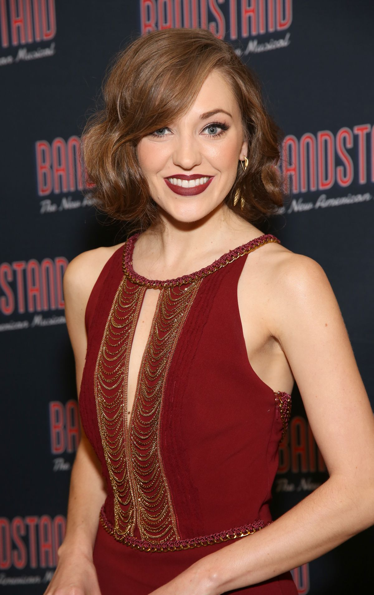 LAURA OSNES at Bandstand Broadway Opening Night After Party in New York 04/26/2017