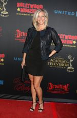 LAURA WRIGHT at Daytime Emmy Awards Nominee Reception in Los Angeles 04/26/2017