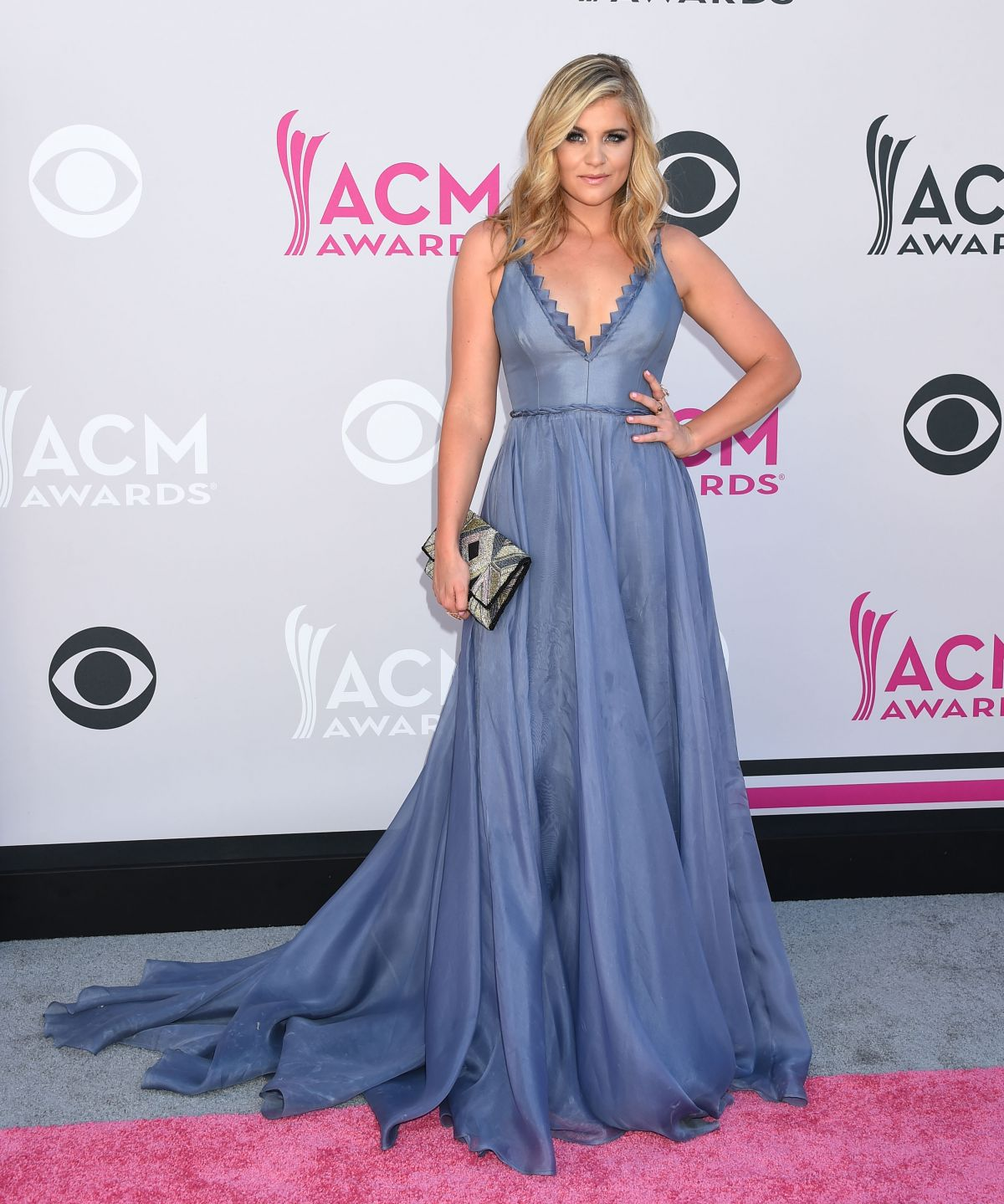 LAUREN ALAINA at 2017 Academy of Country Music Awards in Las Vegas 04/02/2017