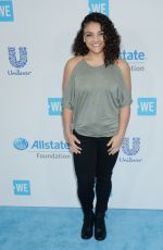LAURIE HERNANDEZ at WE Day California in Los Angeles 04/27/2017