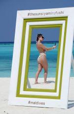 LAURYN GOODMAN in Swimsuit on the Beach in Maldives 04/24/2017