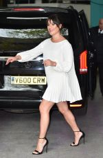 LEA MICHELE Arrives at ITV Studio in London 04/24/2016