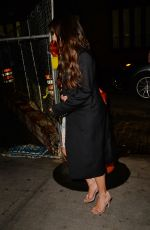LEA MICHELE Out for Dinner in New York 04/27/2017