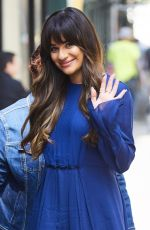 LEA MICHELE Out for Lunch in New York 04/28/2017