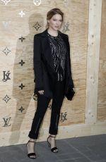 LEA SEYDOUX at Louis Vuitton Dinner Party in Paris 04/11/2017