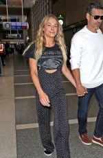 LEANN RIMES at Los Angeles International Airport 04/19/2017