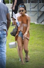 LEIGH-ANNE PINNOCK Out in New Orleans 04/10/2017