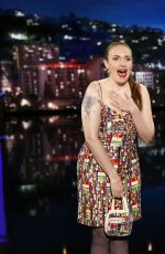 LENA DUNHAM at Jimmy Kimmel Live 04/05/2017