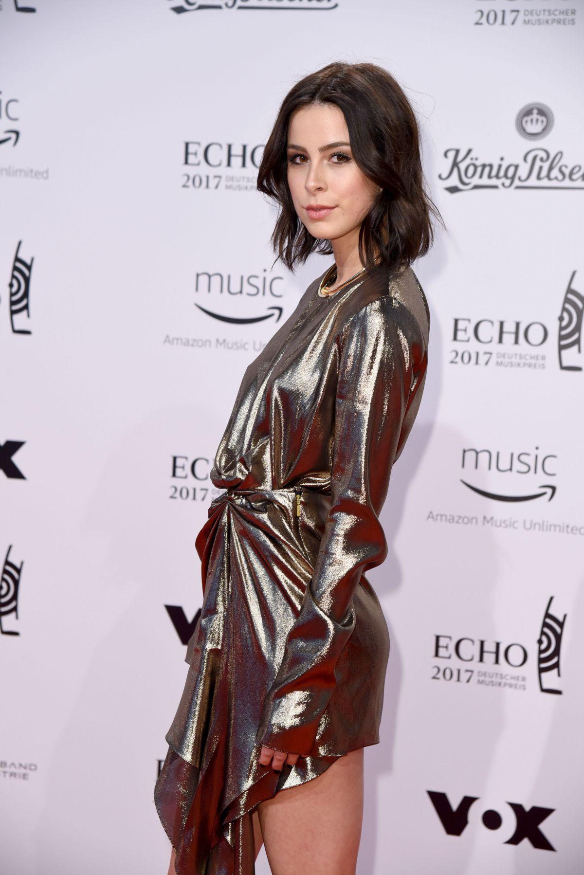 LENA MEYER-LANDRUT at Echo Music Awards in Berlin 04/06/2017