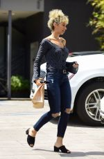 LEONA LEWIS Out and About in Los Angeles 04/07/2017