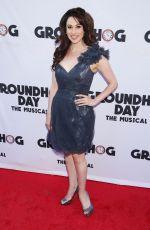 LESLI MERGHERITA at Groundhog Day Broadway Opening Night in New York 04/17/2017