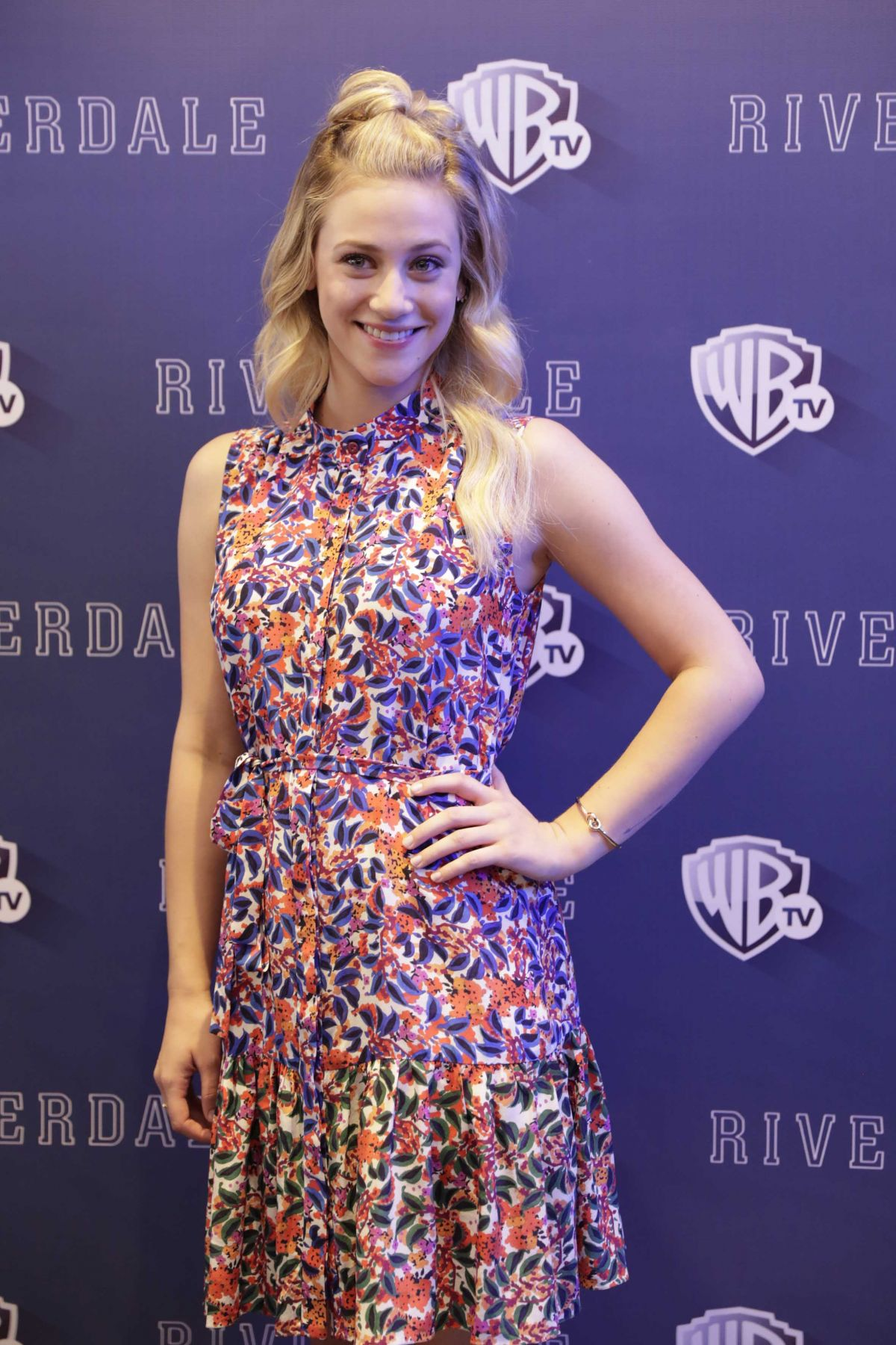 LILI REINHART at Riverdale' TV Series Photocall in Mexico City 04/06/2017