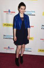 LILLA CRAWFORD at Concert for America: Stand Up, Sing Out in New York 04/18/2017