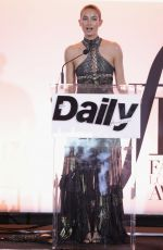 LILY ALDRIDGE at Daily Front Row