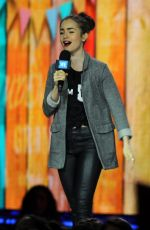 LILY COLLINS Hosts We Day in Seattle 04/21/2017