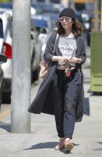 LILY COLLINS Out and About in Los Angeles 04/02/2017