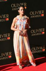 LILY FRAZER at Olivier Awards in London 04/09/2017