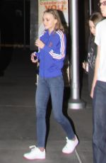 LILY-ROSE DEPP at ArcLight Cinema in Hollywood 04/28/2017