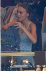 LILY-ROSE DEPP Shopping at Golden Age in West Hollywood 04/18/2017