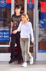 LILY-ROSE DEPP and Her Boyfriend Ash Stymest at Petsmart in Los Angeles 04/28/2017