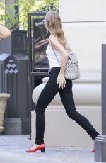 LILY_ROSE DEPP Shopping at The Grove in Los Angeles 04/05/2017