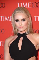 LINDSEY VONN at 2017 Time 100 Gala in New York 04/25/2017