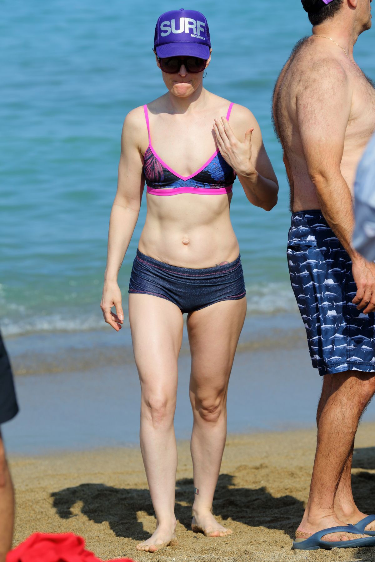 LISA KENNEDY MONTGOMERY in Bikini on the Beach in Hawaii 04/18/2017