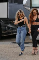 LITTLE MIX Leaves Their Tour Bus in New Orleans 04/11/2017