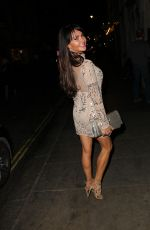 LIZZIE CUNDY Night Out in London 03/31/2017