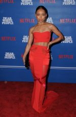 LOGAN BROWNING at Dear White People Series Premiere in Los Angeles 04/27/2017