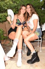 LORENZA IZZO at Galore x Grindr Pool Party at Coachella 2017 in Indio 04/14/2017