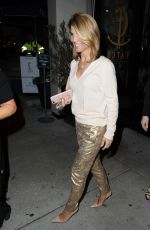 LORI LOUGHLIN Leaves Catch LA in West Hollywood 04/11/2017