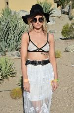 LOTTIE MOSS at Paper x Pretty Little Thing Event at 2017 Coachella Valley Music and Arts Festival 04/14/2017