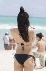 LOURDES LEON in Bikini at a Beach in Miami 04/10/2017