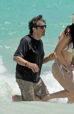 LUCILA SOLA in Bikini and Al Pacino at a Beach in Mexico 04/25/2017