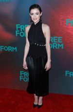 LUCY HALE at 2017 Freeform Upfront in New York 04/19/2017