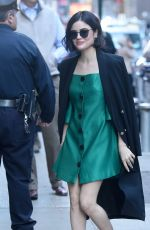 LUCY HALE at Good Morning America in New York 04/18/2017