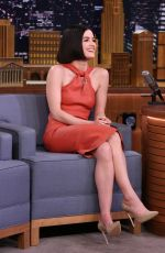 LUCY HALE at Tonight Show Starring Jimmy Fallon 04/20/2017