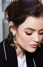 LUCY HALE for byrdie.com