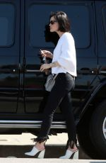 LUCY HALE Out and About in Los Angeles 04/11/2017
