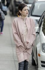 LUCY HALE Out and About in Montreal 04/03/2017