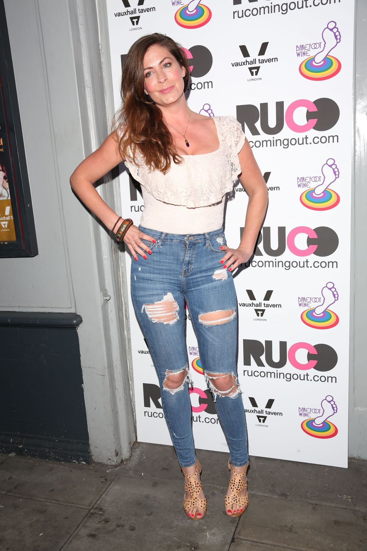 LUCY HOROBIN at RUComing Out Party at Royal Vauxhall Tavern in London 04/20/2017