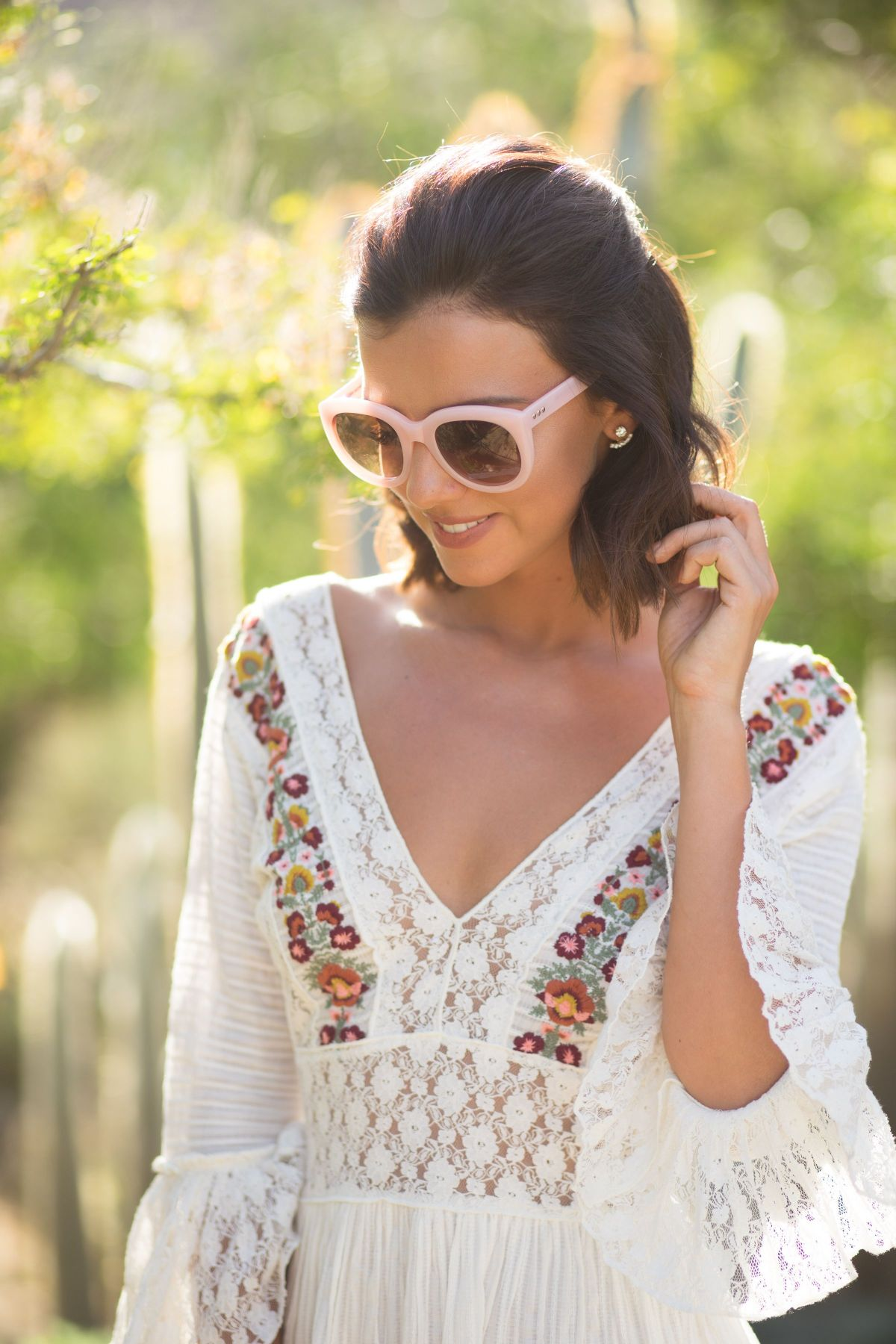 LUCY MECKLENBURGH at Rachel Zoeasis at Coachella Valley Music and Arts Festival 04/15/2017