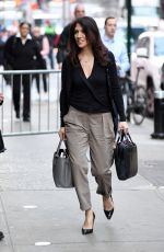 LYNDA LOPEZ Arrives at ABC Studios in New York 04/10/2017