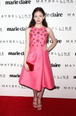 MACKENZIE FOY at Marie Claire Celebrates Fresh Faces in Los Angeles 04/21/2017