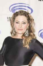 MADCHEN AMICK at Riverdale Press Room at WonderCon in Anaheim 03/31/2017
