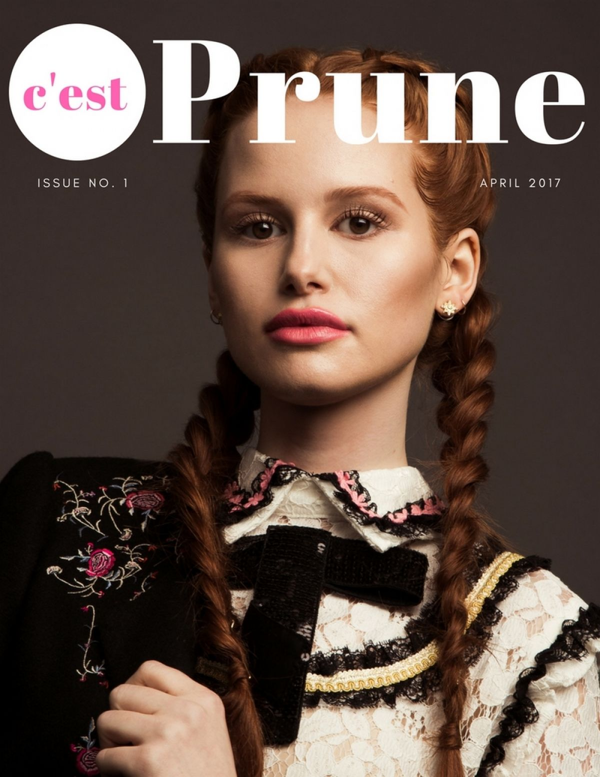 MADELAINE PETSCH in Prune Magazine, April 2017
