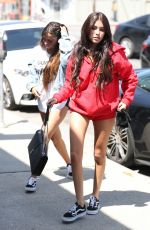 MADISON BEER Arrives at a Tanning Salon in Los Angeles 04/12/2017