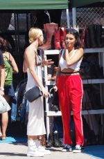 MADISON BEER at Trading Post Flea Market in Hollywood 04/02/2017